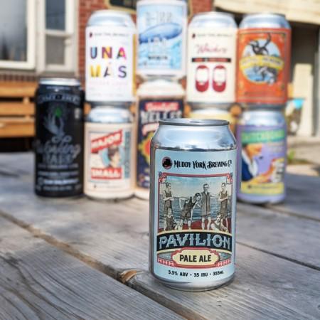 Muddy York Brewing Brings Back Pavilion Pale Ale