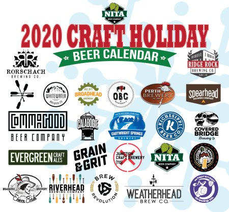 Nita Beer Co. Curating 3rd Annual Collaborative Craft Holiday Beer Calendar