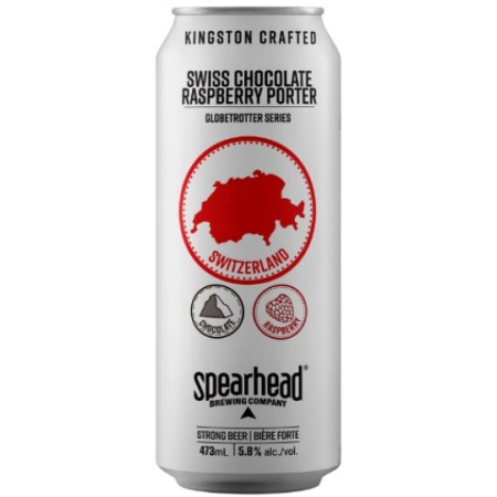 Spearhead Brewing Globetrotter Series Continues with Swiss Chocolate Raspberry Porter