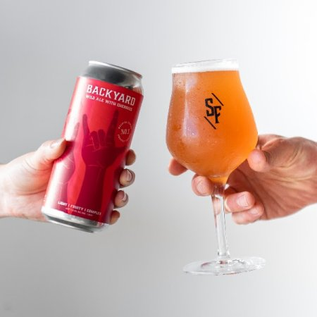 Strange Fellows Brewing Launches Helping Hands Project with Backyard Wild Ale with Cherries