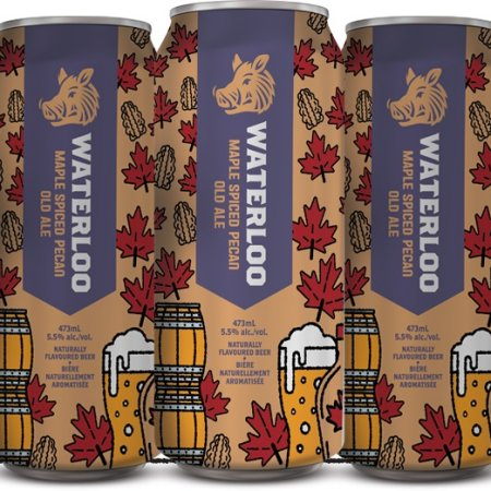 Waterloo Brewing Expanding Distribution of Maple Spiced Pecan Old Ale