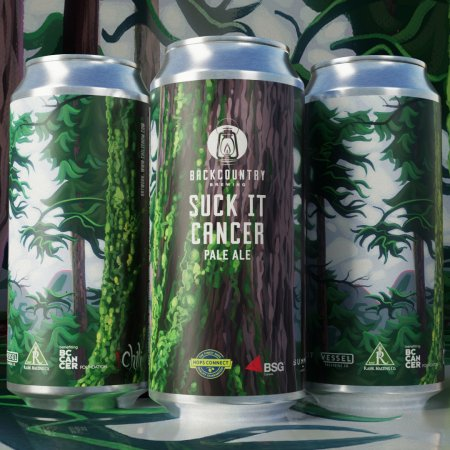Backcountry Brewing Brings Back Suck It Cancer Pale Ale for BC Cancer Foundation