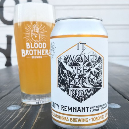 Blood Brothers Brewing Brings Back Guilty Remnant White Stout