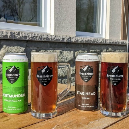 Braumeister Brewing Brings Back Dortmunder Pale Ale and Stag Head Altbier