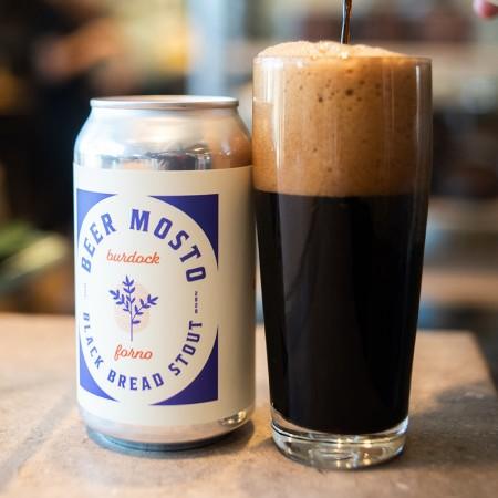 Burdock Brewery and Forno Cultura Release Beer Mosto Black Bread Stout