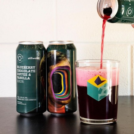 Collective Arts Brewing and Stillwater Artisanal Release Blueberry Chocolate Coffee & Vanilla Sour