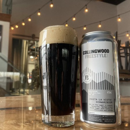 The Collingwood Brewery Freestyle Series Continues with Hasta La Vista Schwarzbier