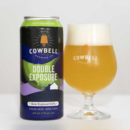 Cowbell Brewing Releases Double Exposure Double IPA