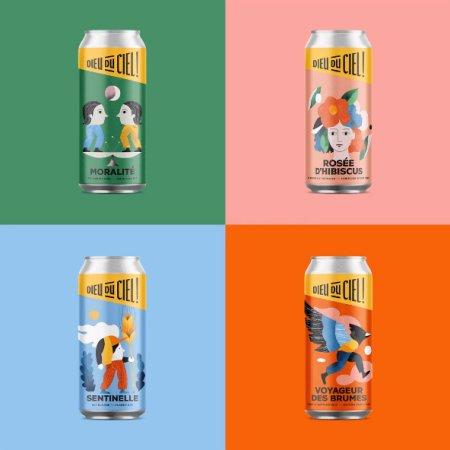 Brasserie Dieu du Ciel! Reveals New Brand Identity