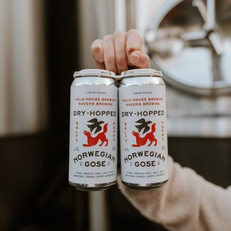 Field House Brewing and Ravens Brewing Releasing Dry-Hopped Norwegian Gose