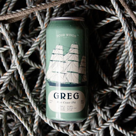 Four Winds Brewing Brings Back Greg West Coast IPA