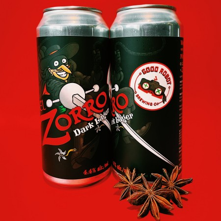 Good Robot Brewing Releases El Zorro Spiced Dark Lager