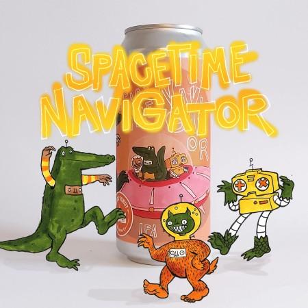 Good Robot Brewing Releases SpaceTime NaviGator IPA