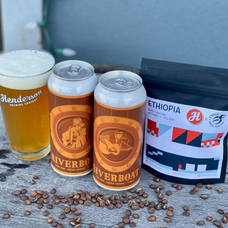 Henderson Brewing Ides Series Continues with Riverboat Coffee Saison