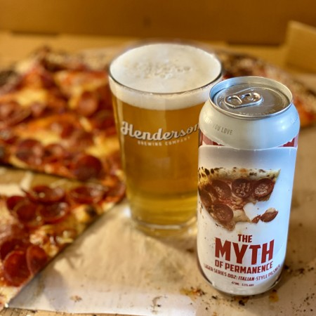 Henderson Brewing Myth of Permanence Lager Series Continues with Italian Pilsner
