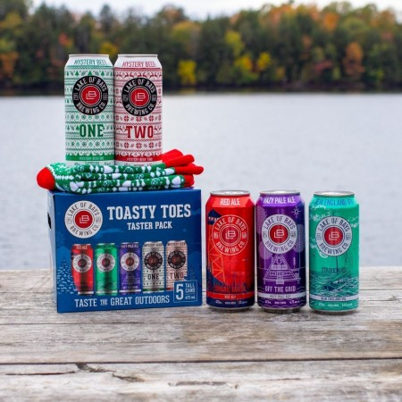 Lake of Bays Brewing Releases Toasty Toes Taster Pack