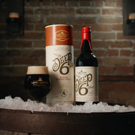 Lake of the Woods Brewing Launching Deep 6 Aged-Under-Ice Series with Russian Imperial Stout