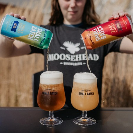 Moosehead Small Batch Brewery Releases East Coast & West Coast IPAs