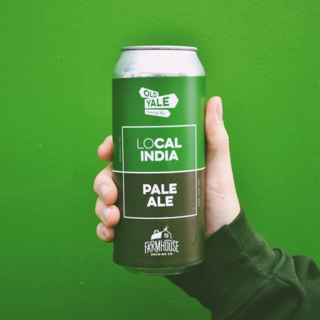 Old Yale Brewing and Farmhouse Brewing Release LoCal India Pale Ale