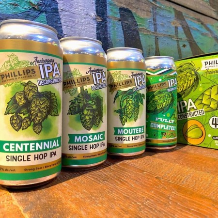 Phillips Brewing Releases Anniversary IPA Deconstructed Mixpack