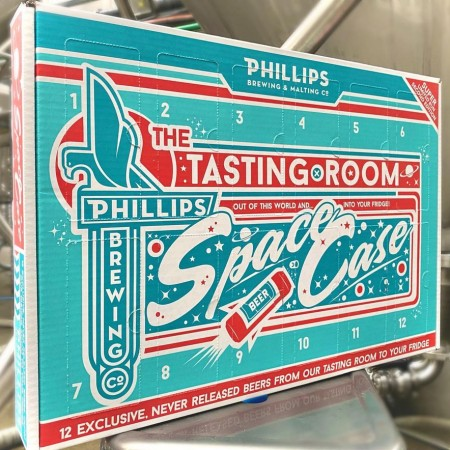 Phillips Brewing Releases 2020 Edition of Space Case Mystery Mix Pack