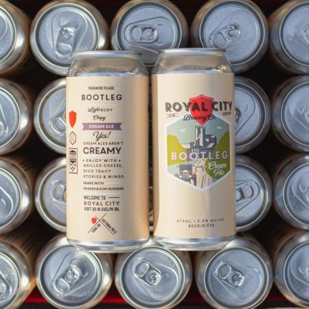 Royal City Brewing Relaunches Bootleg Cream Ale