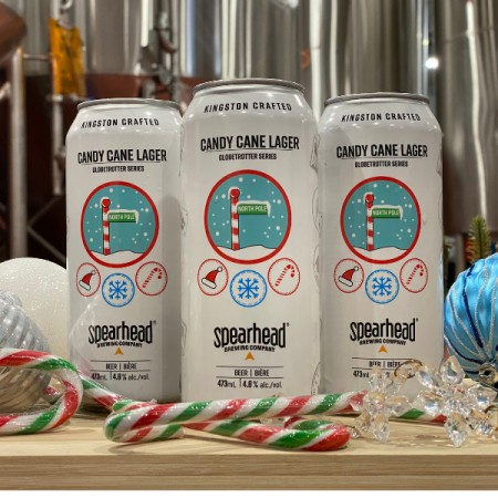 Spearhead Brewing Globetrotter Series Continues with Candy Cane Lager