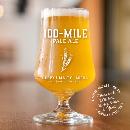 Strange Fellows Brewing Releases 100-Mile Pale Ale