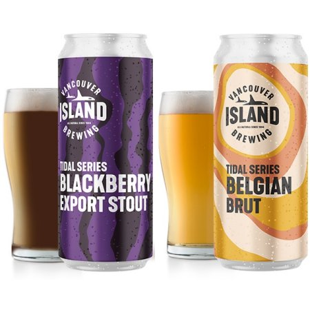 Vancouver Island Brewing Tidal Series Continues with Blackberry Export Stout and Belgian Brut