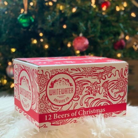 Whitewater Brewing Releases 12 Beers of Christmas Mystery Pack