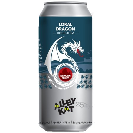 Alley Kat Brewing Dragon Double IPA Series Continues with Loral Dragon