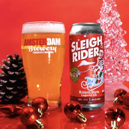 Amsterdam Brewery Releases Trio of Holiday Beers