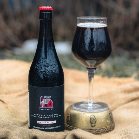 Beau's Brewing Small Batch Series Continues with Beau's X Halcyon Sour Raspberry Stout
