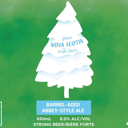 Big Spruce Brewing and Harpoon Brewery Release From Nova Scotia With Love Abbey-Style Ale