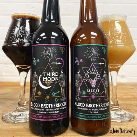 Blood Brothers Brewing Releasing Collaborations with Third Moon Brewing and MERIT Brewing