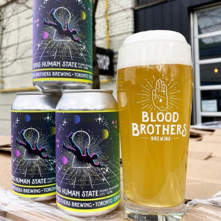 Blood Brothers Brewing Releases Wakatu Version of Trans Human State Lager