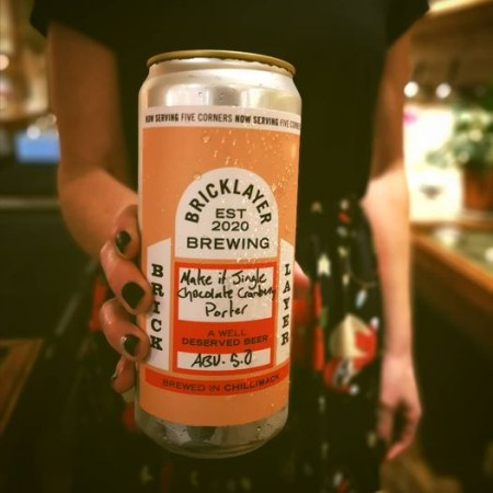 Bricklayer Brewing Releases Make it Jingle Chocolate Cranberry Porter