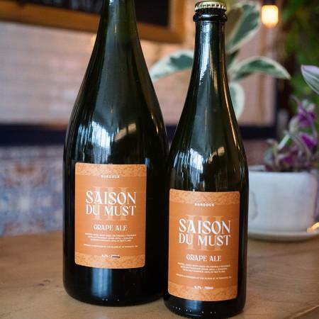 Burdock Brewery Releases Saison du Must III