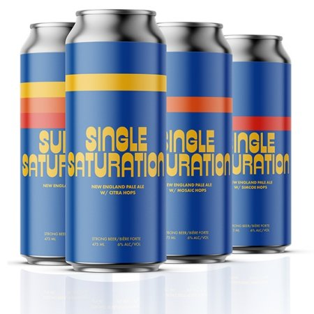 Cabin Brewing Releases Single Saturation Series New England Pale Ales