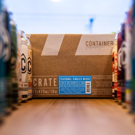 Container Brewing Releases Container Crate Seasonal Singles Mixer
