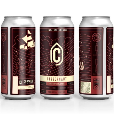 Container Brewing Releases Juggernaut Nitro Imperial Stout