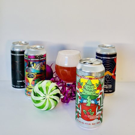 Electric Bicycle Brewing Releases Home Holiday Pack & Virtual Brewery Tour