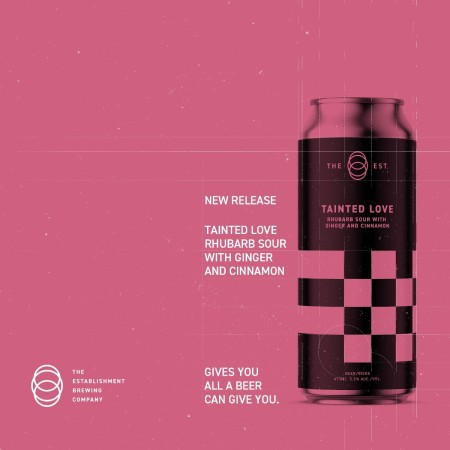 The Establishment Brewing Company Releases Tainted Love Rhubarb Sour