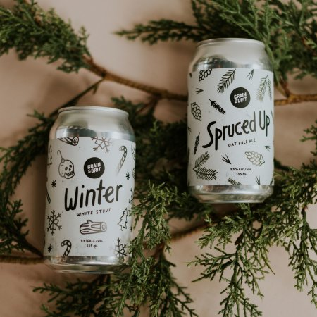 Grain & Grit Beer Co. Releases Two Winter Seasonals and Second Wind IPA