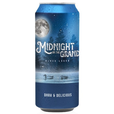 Grand River Brewing Releases Midnight On The Grand Dark Lager