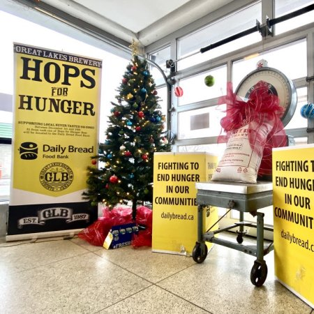 Great Lakes Brewery Launches 2020 Hops For Hunger Campaign for Daily Bread Food Bank