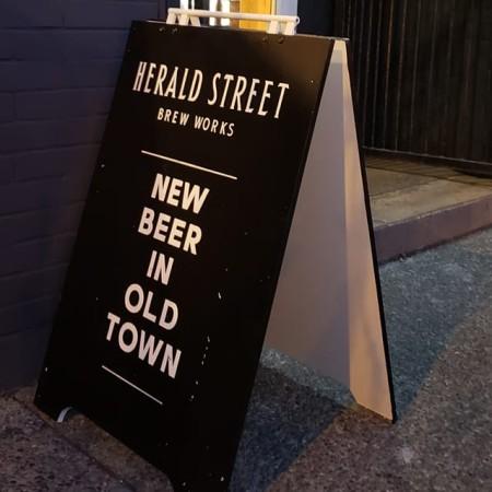 Herald Street Brew Works Now Open in Victoria