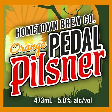 Hometown Brew Co. Releases Orange Pedal Pilsner