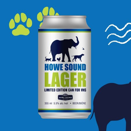 Howe Sound Brewing Releases Limited Edition Cans for Vancouver Humane Society