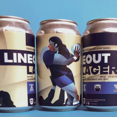 Indie Alehouse Releases Toronto Arrows Lineout Lager and Vine Song 3 & 4
